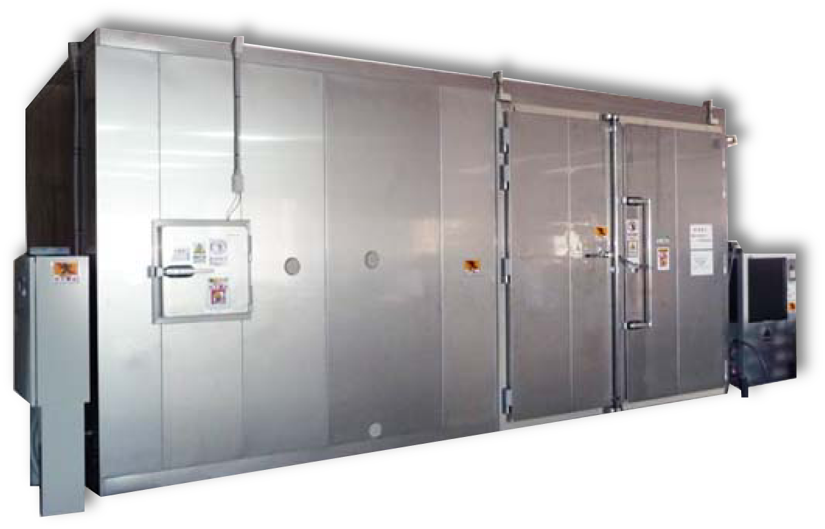 低温度域で高温度環境を実現、低温調湿庫