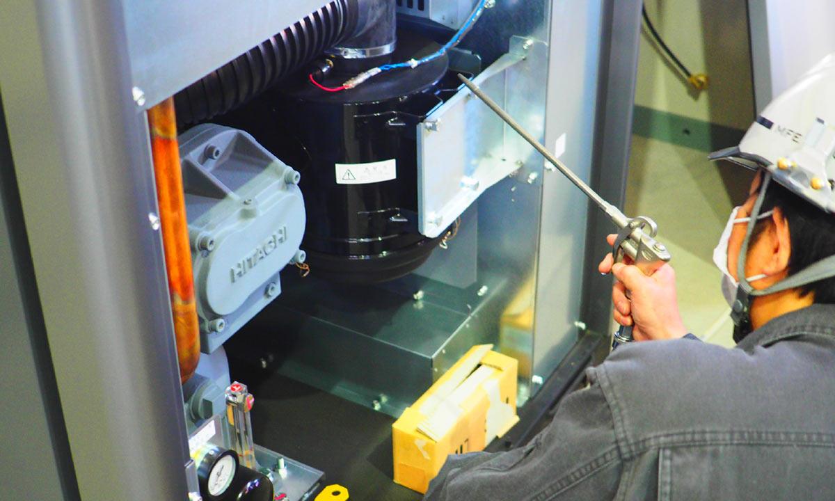 工場設備メンテナンス1