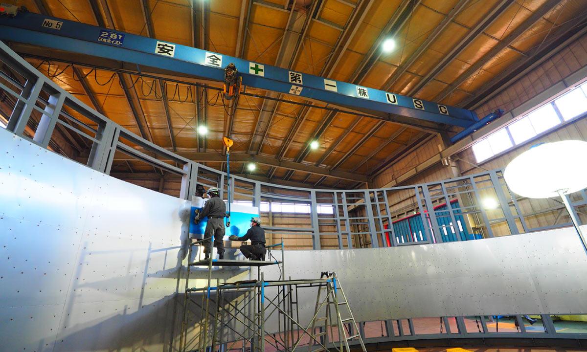 各種産業機械の設計・製造・組立据付2